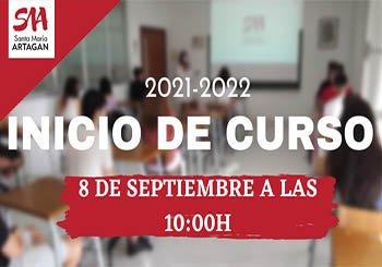 Inicio de curso en el Colegio Artagan de Bilbao - 8 de septiembre