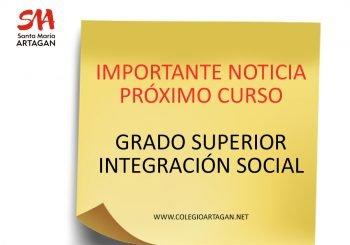 Nuevo Ciclo Superior: INTEGRACIÓN SOCIAL